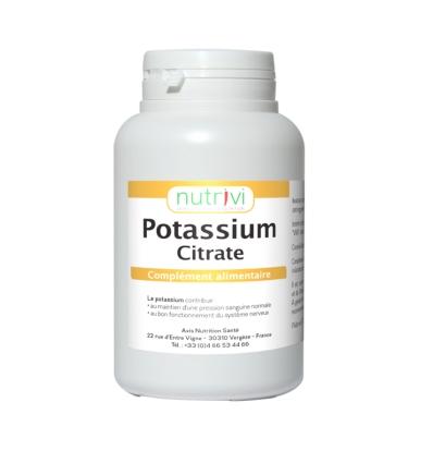 Citrate de potassium LaNutrition.fr (120 gélules)