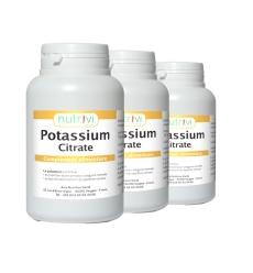 Lot de 3 - Citrate de potassium LaNutrition.fr