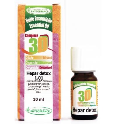 Huile essentielle 3D Hepar detox