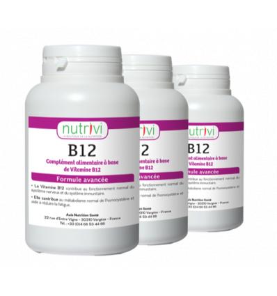 Vitamine b12 60 comprimés à sucer - lot de 3