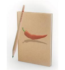 Cadeau - Calepin + crayon