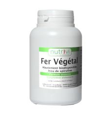 Fer Végétal 120 - Spiruline naturellement riche en fer