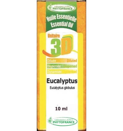 Huile essentielle 3D Eucalyptus