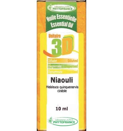 Huile essentielle 3D Niaouli