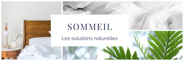 Sommeil solutions naturelles